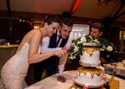 Tessa & Michael taart